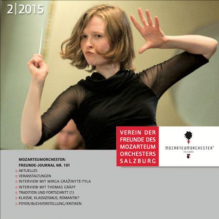 Journal, Verein der Freunde des Mozarteumorchesters