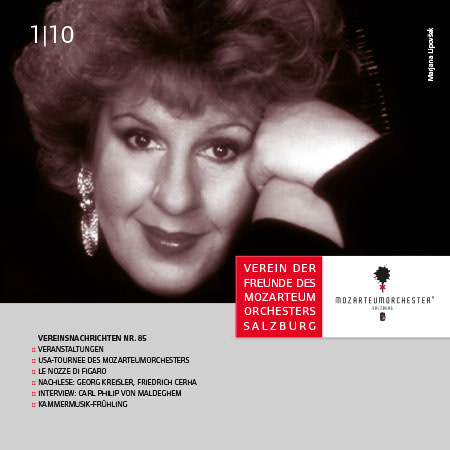 Mozarteumorchester Journal 2010/01