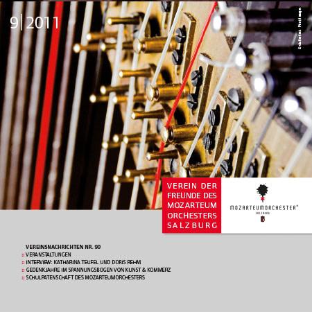 Mozarteumorchester Journal 2011/09