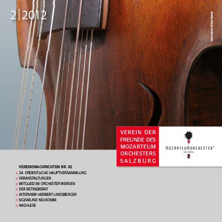 Mozarteumorchester Journal 2012-02