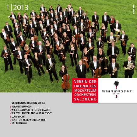 Mozarteumorchester Journal 2013/01
