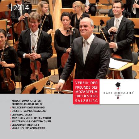 Mozarteumorchester Journal 2014/01