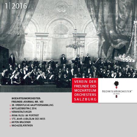 Mozarteumorchester Journal 2016/01
