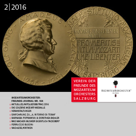Mozarteumorchester Journal 2016/02