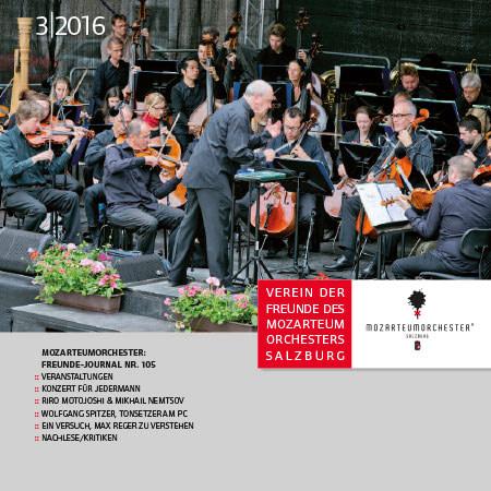 Mozarteumorchester Journal 2016/03