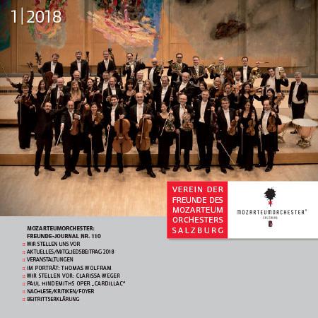 Journal 2018/01 Mozarteumorchester Salzburg